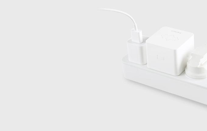 N1网关体积极小,仅占一个插线孔,方便使用