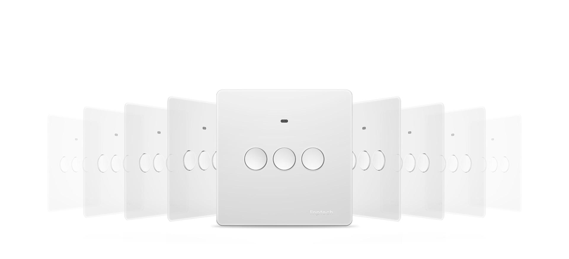 Q1系列智能墙壁开关,遥控开关接收器,挥手控制开关灯