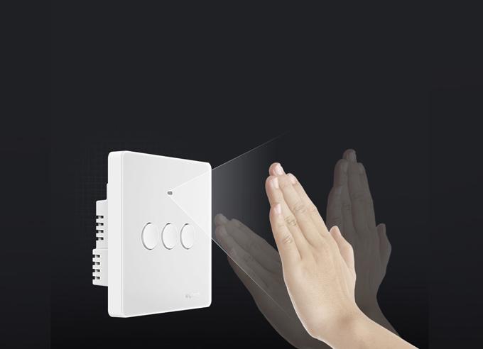 内置感应器,挥手就可控制开灯和关灯